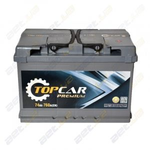 Мощные украинские автомобильные аккумуляторы Top Car Premium от «АвтоЕвроТрейд»