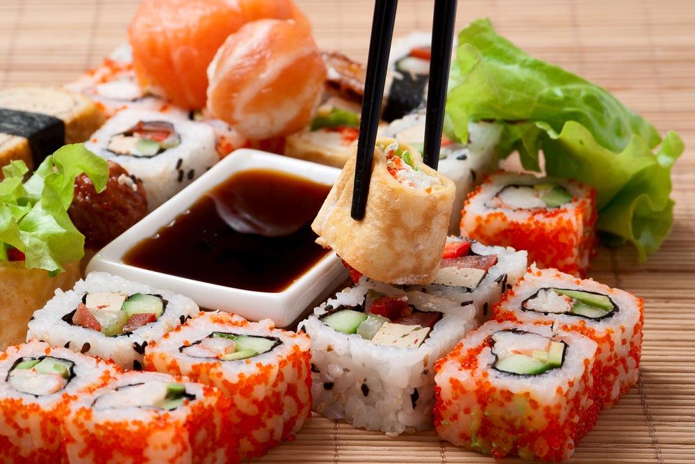 Как выбрать суши с доставкой