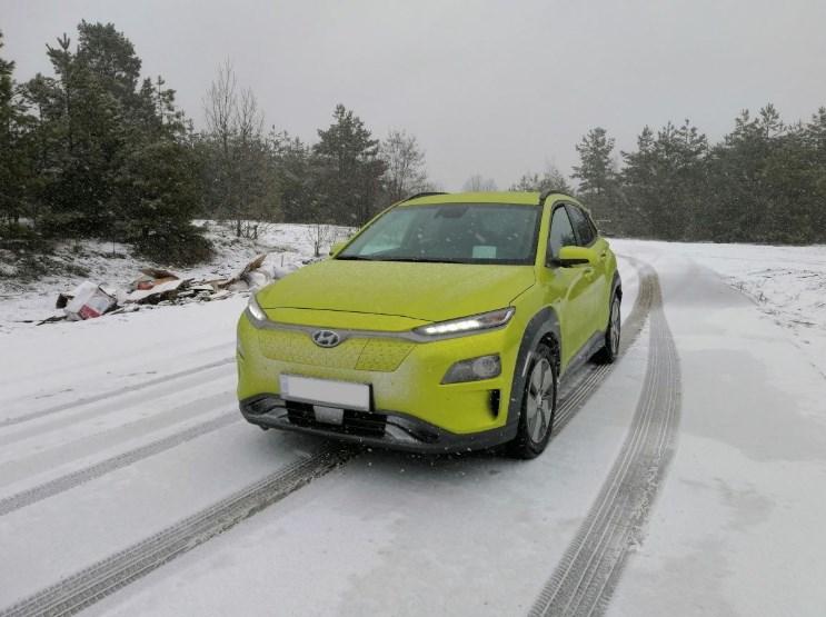 Электрокроссовер Hyundai Kona в Украине: тест на наших дорогах